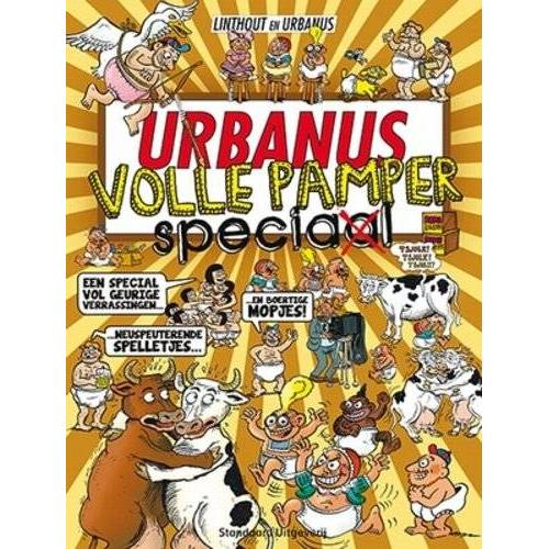 Urbanus - Urbanus volle pamper speciaal (Urbanus speciaal, Band 9) - Preis vom 25.02.2021 06:08:03 h