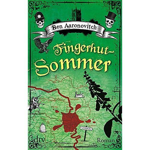 Ben Aaronovitch - Fingerhut-Sommer: Roman (dtv Unterhaltung) - Preis vom 14.01.2021 05:56:14 h