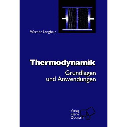 Werner Langbein - Thermodynamik - Preis vom 12.05.2021 04:50:50 h