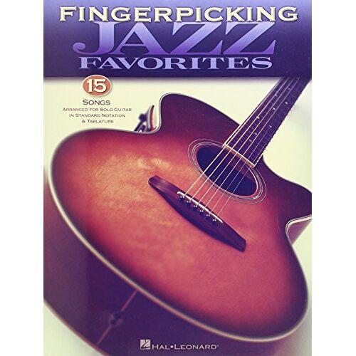 Various - Fingerpicking Jazz Favorites: Songbook für Gitarre - Preis vom 23.01.2021 06:00:26 h
