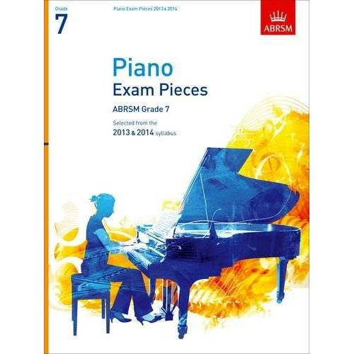 Richard Jones - Piano Exam Pieces 2013 & 2014, ABSRM Grade 7: Selected from the 2013 & 2014 Syllabus (ABRSM Exam Pieces) - Preis vom 21.10.2020 04:49:09 h