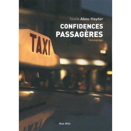 Toufik Abou-Haydar - Confidences passagères - Preis vom 14.04.2021 04:53:30 h