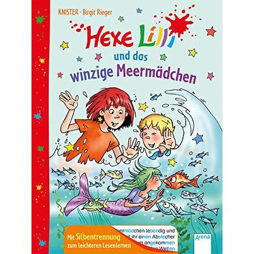 Knister - Hexe Lilli und das Meermädchen: Mit Silbentrennung zum leichteren Lesenlernen - Preis vom 18.04.2021 04:52:10 h