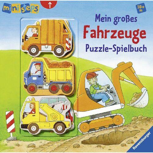 Sabine Cuno - ministeps® Bücher: Mein großes Fahrzeuge Puzzle-Spielbuch: Ab 18 Monaten - Preis vom 10.04.2021 04:53:14 h