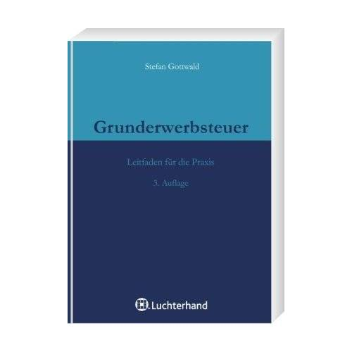 Stefan Gottwald - Grunderwerbsteuer - Preis vom 06.05.2021 04:54:26 h