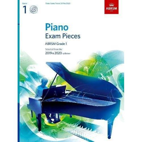 ABRSM - Piano Exam Pieces 2019 & 2020, ABRSM Grade 1, with CD: Selected from the 2019 & 2020 syllabus (ABRSM Exam Pieces) - Preis vom 13.01.2021 05:57:33 h