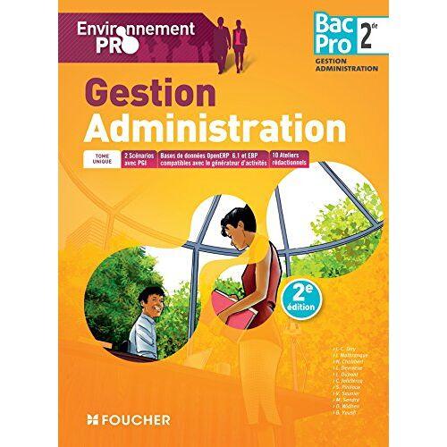 Collectif - Gestion-administration, 2de Bac pro gestion-administration - Preis vom 24.01.2021 06:07:55 h