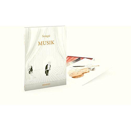 Jean-Jacques Sempé - Musik (Postkartenbuch): 20 Postkarten - Preis vom 15.01.2021 06:07:28 h