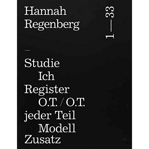 Hannah Regenberg - Hannah Regenberg: Katalog - Preis vom 18.04.2021 04:52:10 h