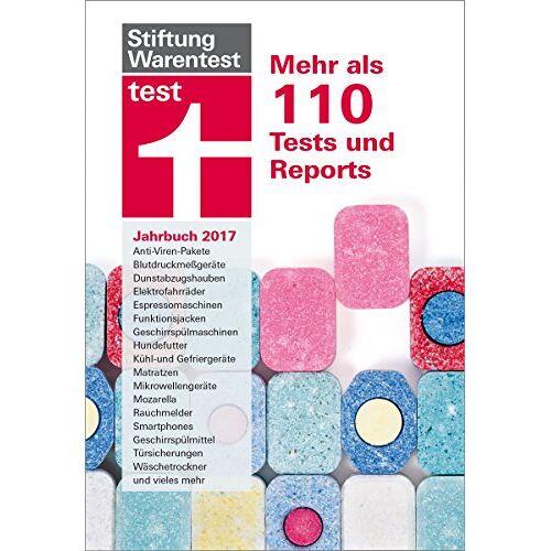 Stiftung Warentest - test Jahrbuch 2017: Mehr als 110 Tests und Reports - Preis vom 25.02.2021 06:08:03 h
