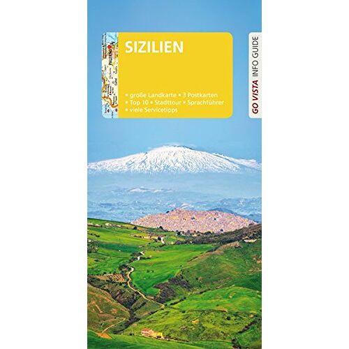 Geiss, Heide Marie Karin - GO VISTA: Reiseführer Sizilien: Mit Faltkarte und 3 Postkarten (Go Vista Info Guide) - Preis vom 11.05.2021 04:49:30 h