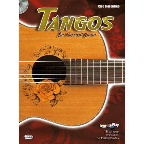 - Tangos for Classical Guitar. Gitarre - Preis vom 15.01.2021 06:07:28 h
