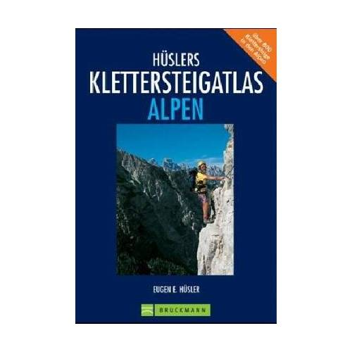 Hüsler, Eugen E. - Hüslers Klettersteig Atlas Alpen - Preis vom 08.05.2021 04:52:27 h