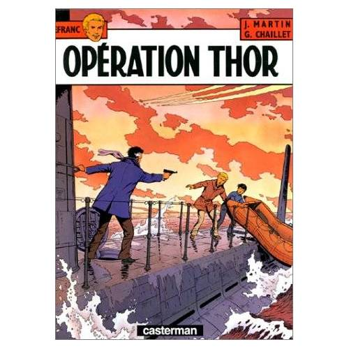 Jacques Martin - Lefranc t6 operation thor - Preis vom 15.05.2021 04:43:31 h