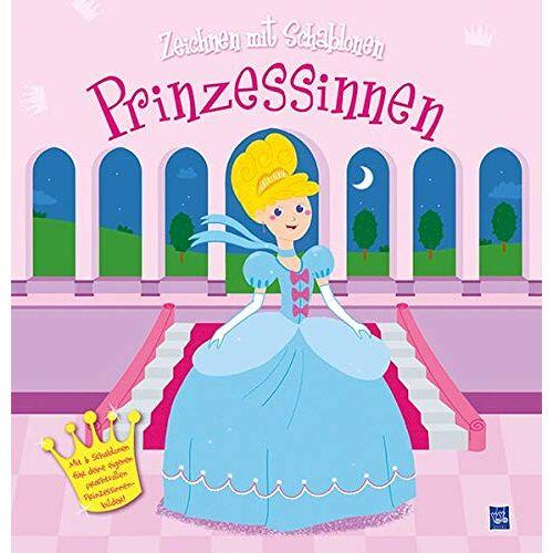 - Zeichnen mit Schablonen - Prinzessinnen: Mit sechs Schablonen für deine eigenen Bilder - Preis vom 14.04.2021 04:53:30 h