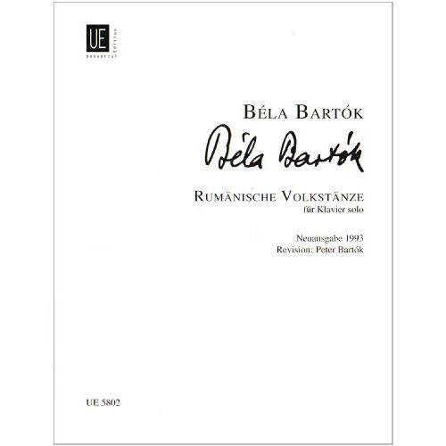 - Rumaenische Volkstaenze. Klavier - Preis vom 16.04.2021 04:54:32 h