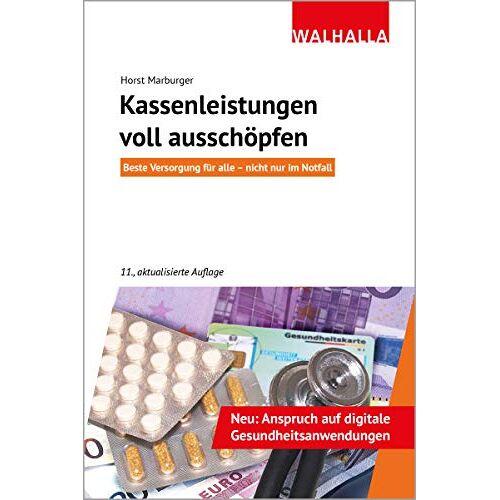 Horst Marburger - Kassenleistungen voll ausschöpfen - Preis vom 18.04.2021 04:52:10 h