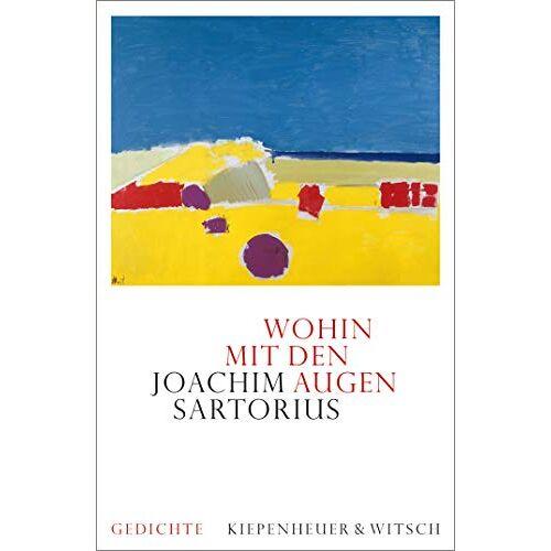Joachim Sartorius - Wohin mit den Augen: Gedichte - Preis vom 09.05.2021 04:52:39 h