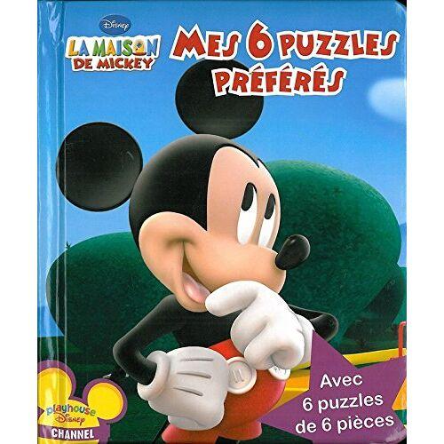 Disney - La Maison de Mickey, Mes 6 puzzles préférés - Preis vom 27.02.2021 06:04:24 h