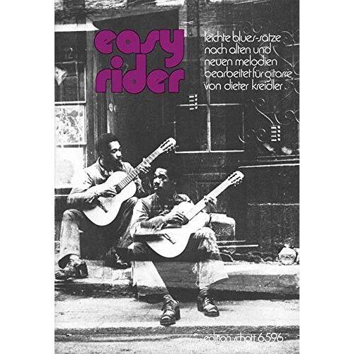 - Easy Rider: Leichte Blues-Sätze nach alten und neuen Melodien. Gitarre. - Preis vom 11.05.2021 04:49:30 h