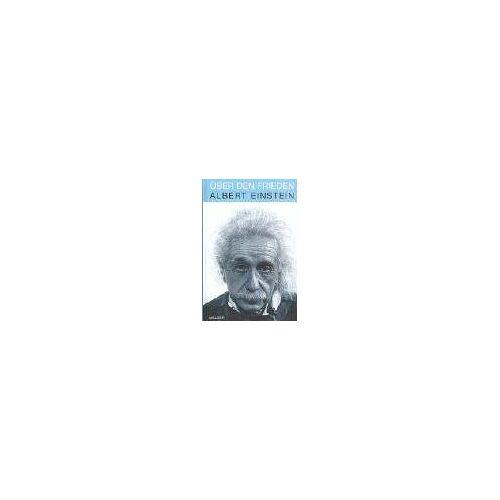 Albert Einstein - Über den Frieden - Preis vom 24.01.2021 06:07:55 h