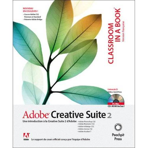 Adobe - ADOBE CREATIVE SUITE 2 (CLASSROOM IN A BOOK) - Preis vom 27.02.2021 06:04:24 h