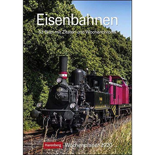 Harenberg - Eisenbahnen 2020 25x35,5cm - Preis vom 09.04.2021 04:50:04 h