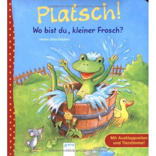 Heike Wiechmann - Platsch! Wo bist du, kleiner Frosch? - Preis vom 25.02.2020 06:03:23 h