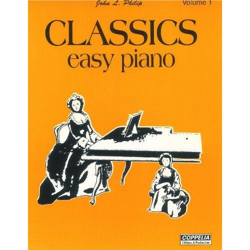 John L. Philip - Partition: Classics easy piano vol. 1 - Preis vom 21.10.2020 04:49:09 h