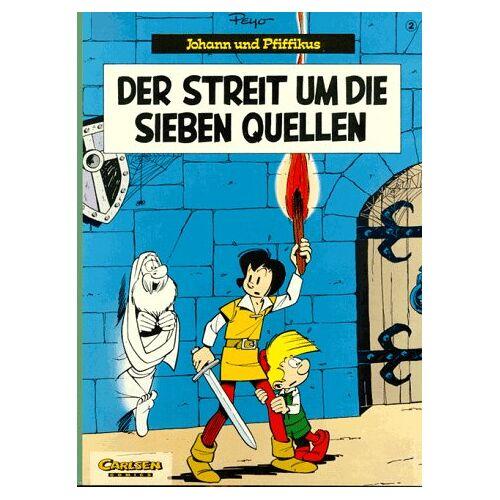 Peyo - Johann und Pfiffikus, Bd.2, Der Streit um die sieben Quellen - Preis vom 10.09.2020 04:46:56 h