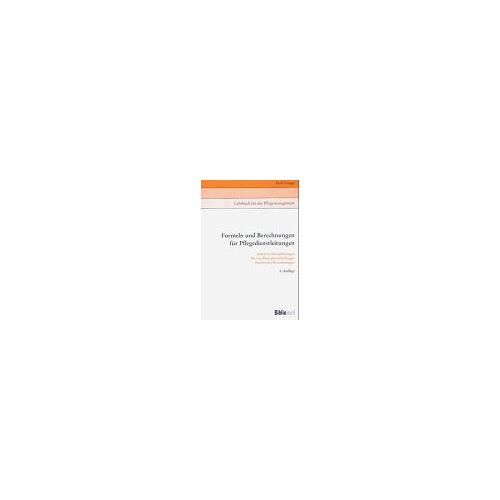 Fred Lange - Formeln und Berechnungen für Pflegedienstleistungen - Preis vom 07.05.2021 04:52:30 h