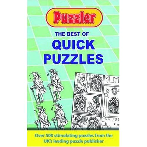 Puzzler Media - Best of Puzzler Quick Puzzles - Preis vom 18.10.2020 04:52:00 h