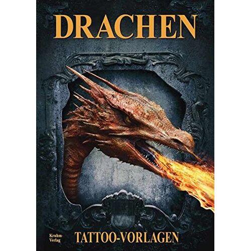 Kruhm Verlag - Drachen - Tattoo Sketchbook: Tattoo Vorlagen Buch - Preis vom 09.04.2021 04:50:04 h