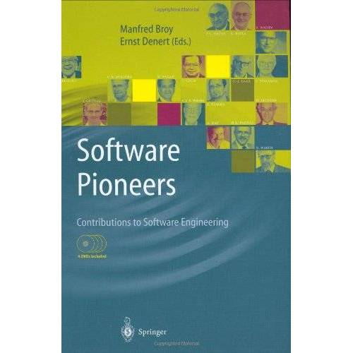 Manfred Broy - Software Pioneers: Contributions to Software Engineering - Preis vom 20.10.2020 04:55:35 h
