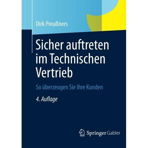 Dirk Preußners - Sicher auftreten im Technischen Vertrieb - Preis vom 19.10.2020 04:51:53 h