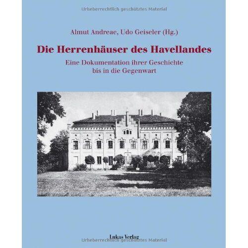 Almut Andreae - Die Herrenhäuser des Havellandes - Preis vom 14.05.2021 04:51:20 h