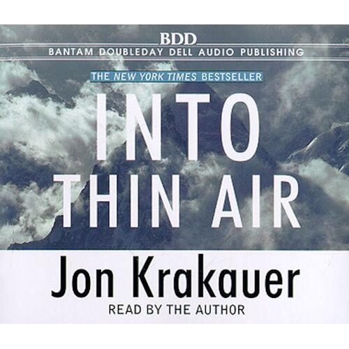 Jon Krakauer - Into Thin Air - Preis vom 03.09.2020 04:54:11 h