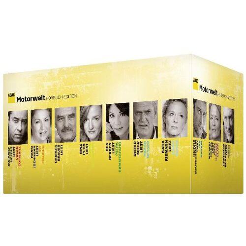 Various - ADAC Motorwelt Hörbuch-Edition - Die Box - Preis vom 28.02.2021 06:03:40 h