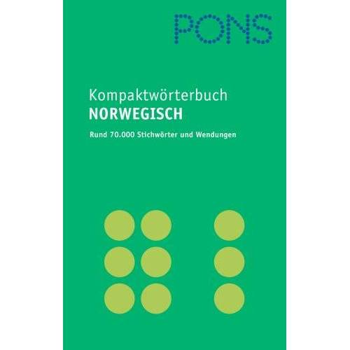 - PONS Kompaktwörterbuch Norwegisch: Norwegisch - Deutsch / Deutsch - Norwegisch / Mit 70.000 Stichwörtern und Wendungen - Preis vom 15.04.2021 04:51:42 h