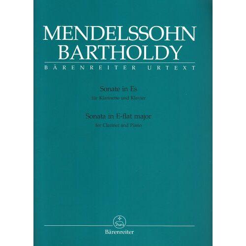 - Sonate Es-Dur. Klarinette, Klavier - Preis vom 07.05.2021 04:52:30 h