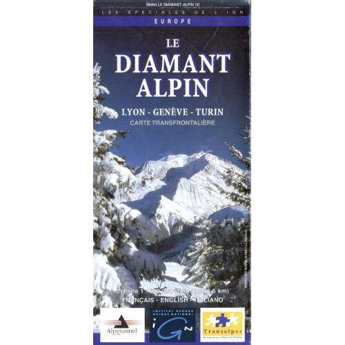 Cartes Europe IGN - Carte routière : Le Diamant alpin (Série Europe) - Preis vom 04.09.2020 04:54:27 h