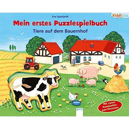 Lisa Golze - Mein erstes Puzzlespielbuch. Tiere auf dem Bauernhof: Kiddilight: - Preis vom 25.02.2021 06:08:03 h