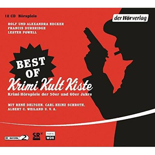Becker, Rolf A. - Best of Krimi Kult Kiste: Krimi-Hörspiele der 50er und 60er Jahre - Preis vom 04.09.2020 04:54:27 h