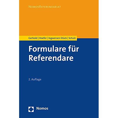 Sönke Gerhold - Formulare für Referendare - Preis vom 27.02.2021 06:04:24 h