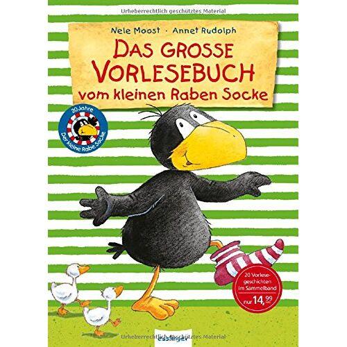 Nele Moost - Der kleine Rabe Socke: Das große Vorlesebuch vom kleinen Raben Socke - Preis vom 10.05.2021 04:48:42 h