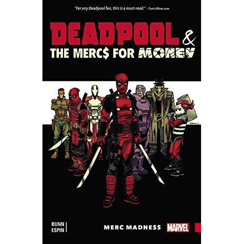 Cullen Bunn - Deadpool & the Mercs For Money Vol. 0: Merc Madness - Preis vom 04.09.2020 04:54:27 h