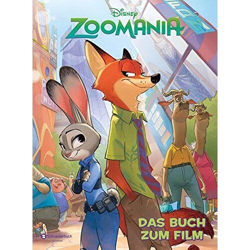 Disney - Zoomania: Das Buch zum Film - Preis vom 28.02.2021 06:03:40 h