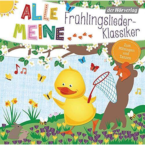 - Alle meine Frühlingslieder-Klassiker (Alle meine ...-Reihe, Band 10) - Preis vom 11.05.2021 04:49:30 h