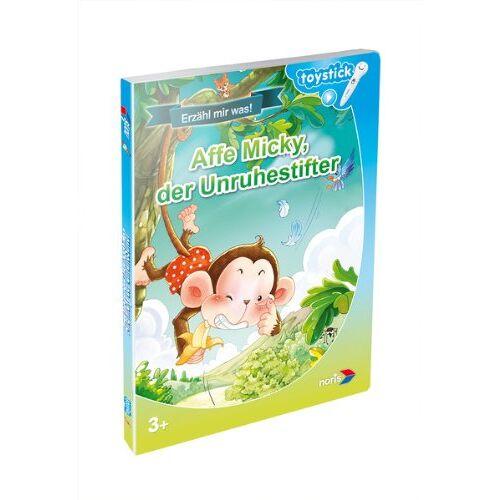 - Toystick Buch - Lesen mal anders - Affe Micky der Unruhestifter - Preis vom 27.02.2021 06:04:24 h