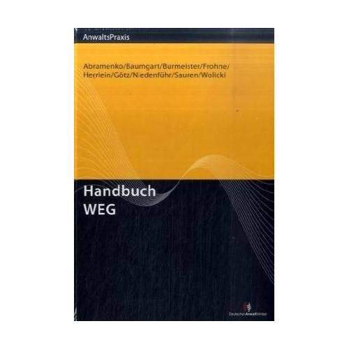 Andrik Abramenko - Handbuch WEG - Preis vom 18.04.2021 04:52:10 h
